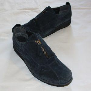 Stuart Weitzman Zip Up Sneakers